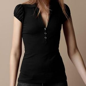 Burberry London | Black Polo Shirt